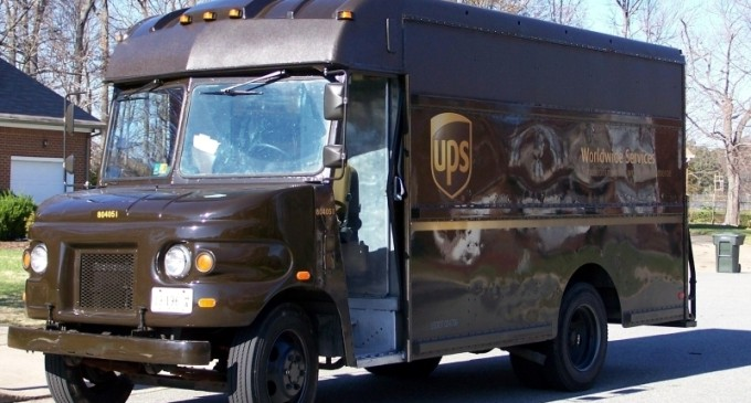 UPS not Worried about Competition with Amazon